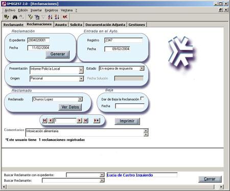 Gruponoroeste omigest sistema de gestion de reclamaciones for Oficina registro comunidad de madrid